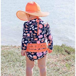 Ruffle Butts 0-3 swim suit